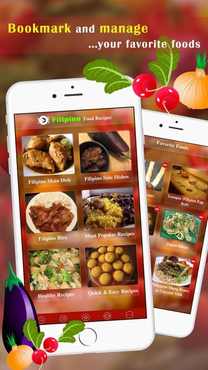 Filipino Food Recipes screenshot-3