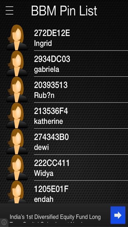 Pin Finder for BBM screenshot-3