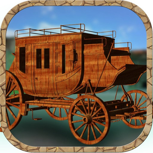 3D Western Stagecoach Wagon Racing Game With Cowboy Driving Fun Racer Games FREE