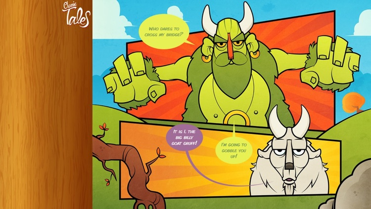 Three Billy Goats Gruff - Classic Tales screenshot-3