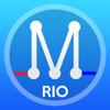 Rio Metro  Mapa de Transporte - Rio de Janeiro offline metro mapa