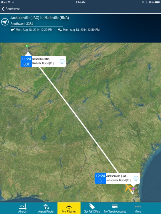 Nashville Airport + Flight Tracker Premium HD BNA screenshot-0