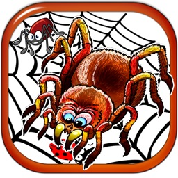 Scary Squishy Spider - Secret Picture Sliding Puzzle Free