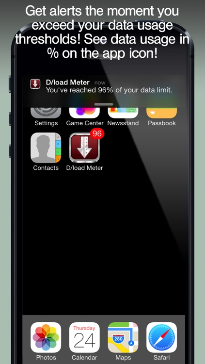 Download Meter - track Data Usage and avoid Data Plan Overage screenshot-3
