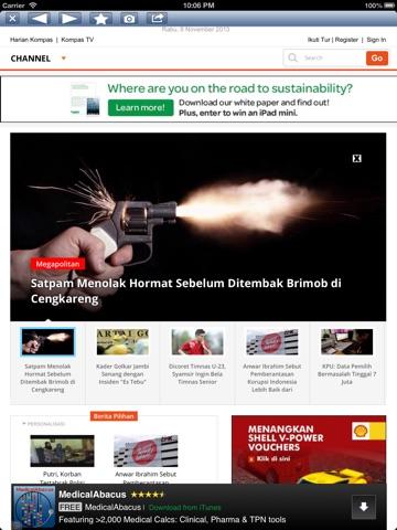 Indonesia Daily iPad