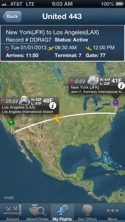 New York Kennedy Airport JFK- Flight Tracker