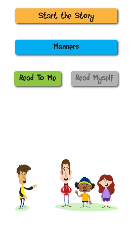 Manners Social Story and Speech Tool