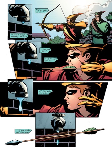 Green Arrow Quiver By Kevin Smith Phil Hester Ande Parks On