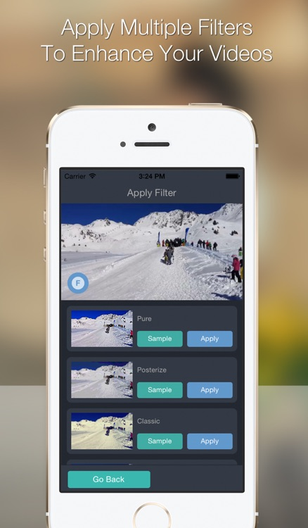 Snippet - Video Editor With Filters And Splice Features
