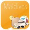 モルディブ オフラインマップ&フライト。航空券、空港、レンタカー、予約のホテル。無料のナビゲーション。