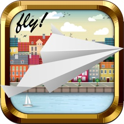 Paper-Plane Escape Toss - By Fun Game for the Kid