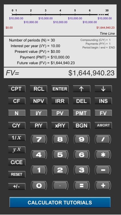 Pearson Financial Calculator screenshot-0