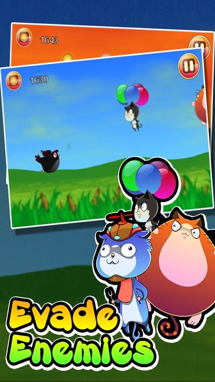 Fat Birds Go! - Flying Seasons screenshot-4
