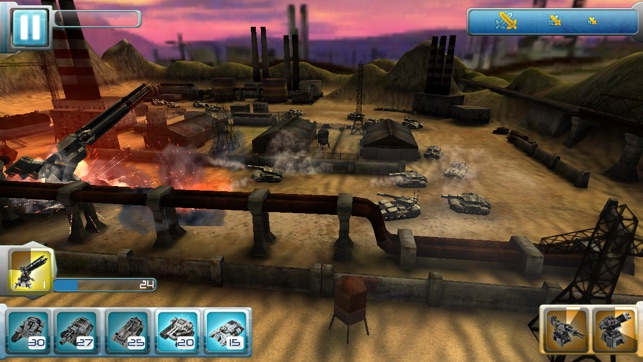 Iron Hero: Collision Screenshot