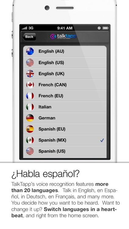 TalkTapp ~ Voice Text Dictation screenshot-4