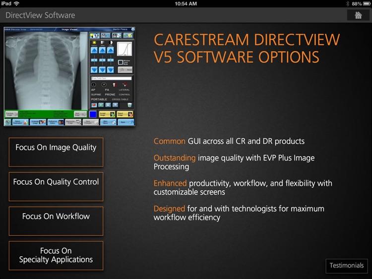 Carestream XRS
