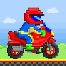 Moto Racers - Free 8-bit Retro Pixel Games