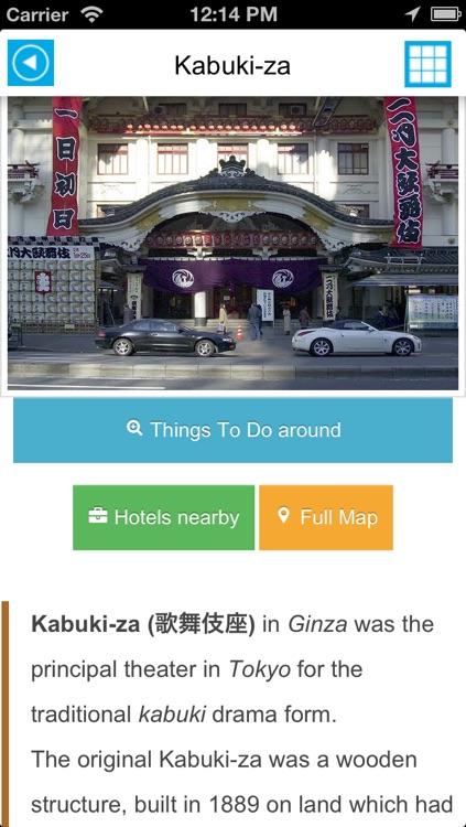 Tokyo offline map, guide & hotels screenshot-3