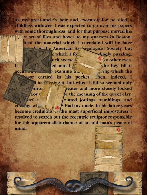 Totalbook - Call of Cthulhu : The Interactive and Illustrated Howard Phillips Lovecraft story screenshot-4