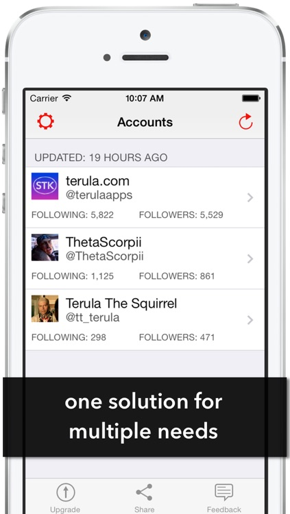 Twigo - Manage Twitter Accounts - Track Twitter Followers and Unfollowers - Gain Followers & Find Your Audience