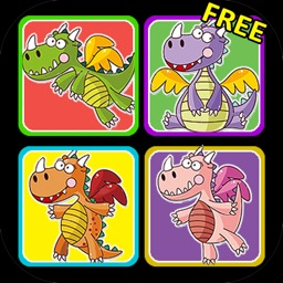 Dragons Matching Game by Games For Girls, LLC