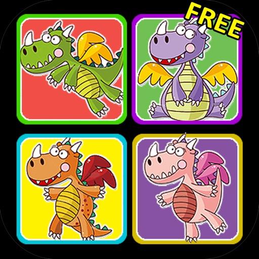«Соедини драконов» от ООО «Игры для девочек» (Dragons Matching Game by Games For Girls, LLC)
