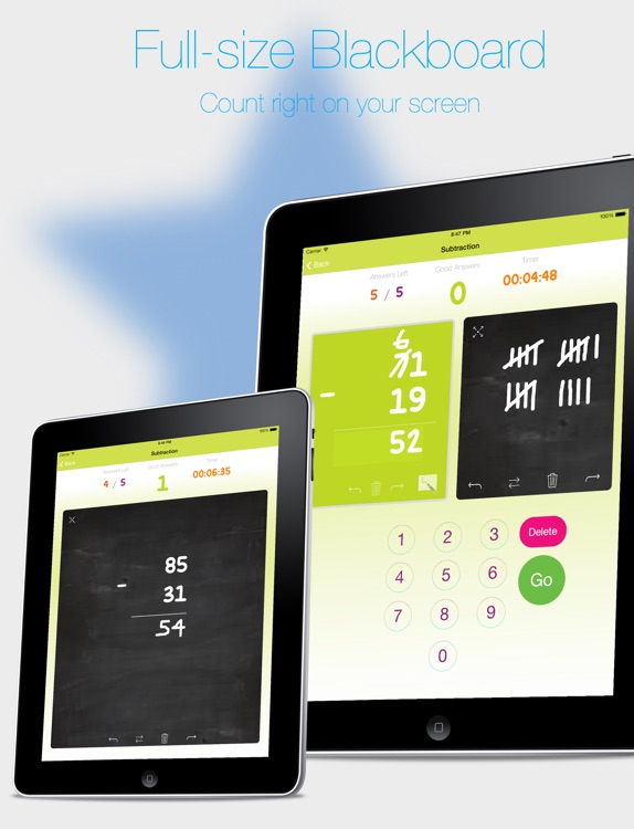 Flip The Future - Math Flash Cards App, Practice Math, Addition, Subtraction, Multiplication, Division