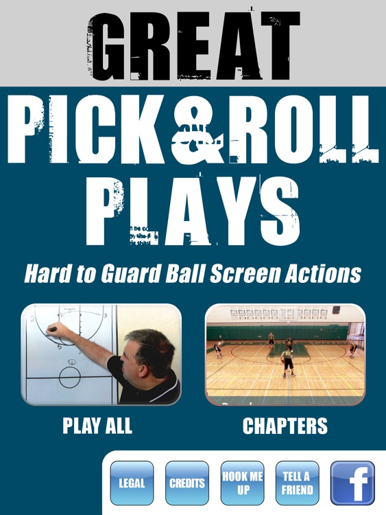 Great Pick & Roll Plays: Using Ball Screens For A Championship Offense - With Coach Lason Perkins - Full Court Basketball Training Instruction - XL