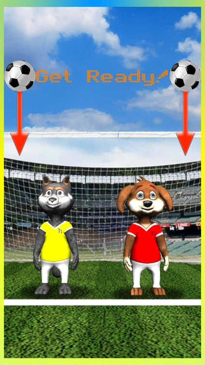Cool 3D Soccer Dogs - New Superstar Head Football Jugglers Game