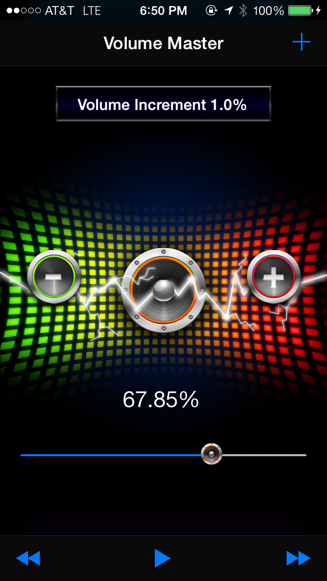 Volume Master - Dial in the sound of your music player with a control boosterのおすすめ画像1