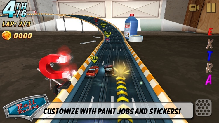 Rail Racing screenshot-3