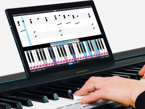 Piano Learn Lessons Practice Scales Chords Rhythm Training Teach