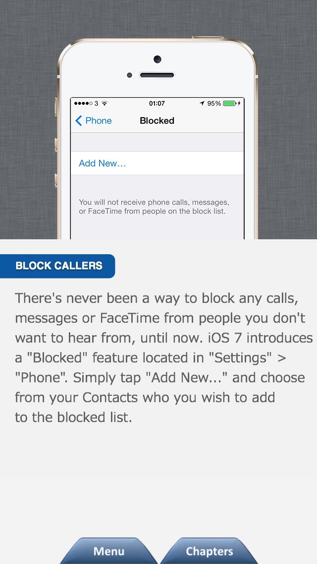 Secrets for iPhone - Tips & Tricksのおすすめ画像4