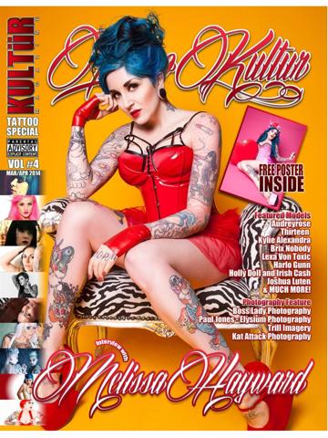 Tattoo Kultur: magazine about tattooed professionals and artists screenshot