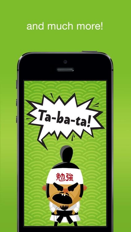 Tabata! Daily 4-Minute Workouts screenshot-4
