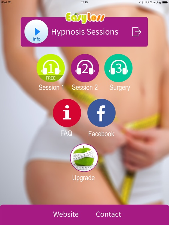 Virtual Gastric Band Hypnosis -Lose Weight Fast! LITE for iPad