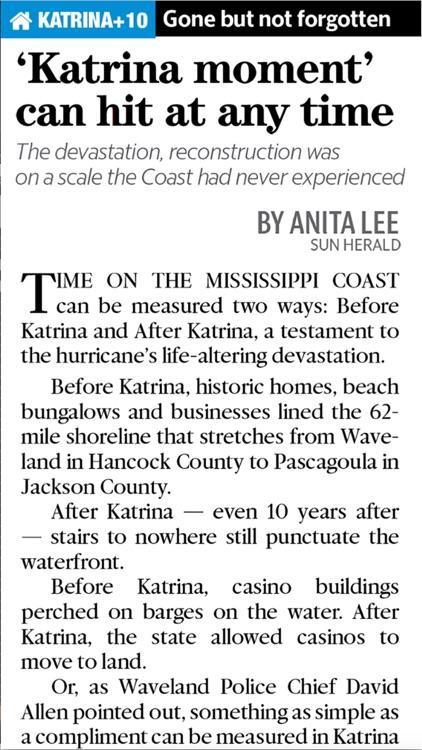 Katrina+10: Mississippi's Story screenshot-3
