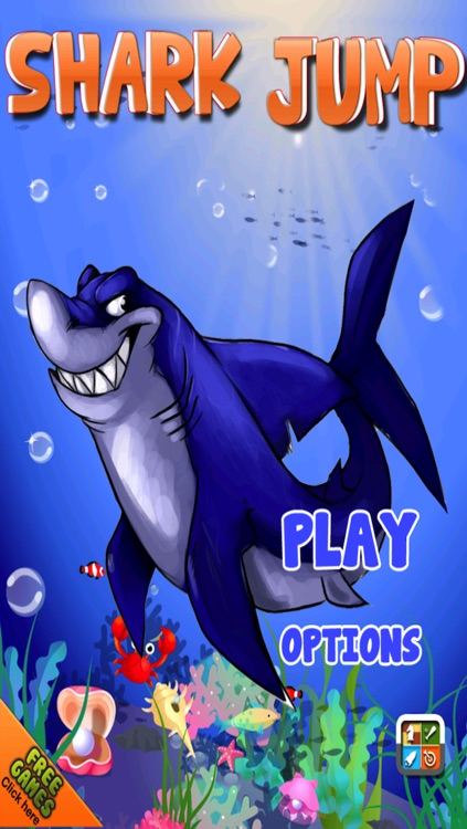 A Shark Jump Free Game - Underwater Bubble Attack of the Submarines Adventure