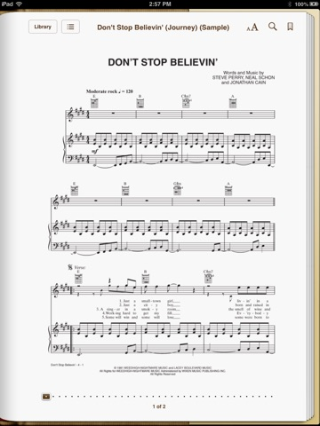 Dont Stop Believin By Steve Perry Neal Schon Jonathan Cain