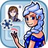 Juego de memoria para niñas: memory Princesa de hielo. Juego educativo para chicas