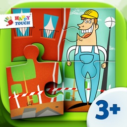 A Funny Job Puzzle - Set 3 - Kids Apps for toddlers and preschoolers - by Happy Touch Kids Games®