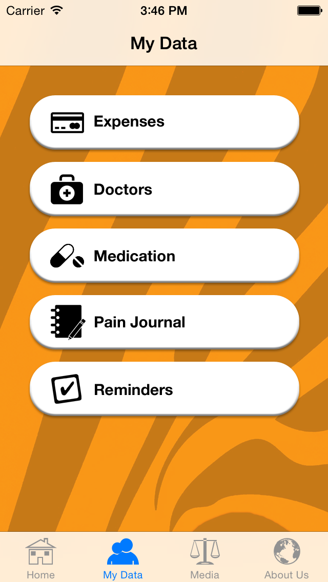 Law Tigers Mobile App screenshot