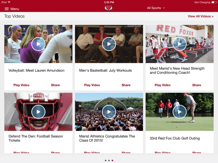 Marist College Athletics for iPad 2015