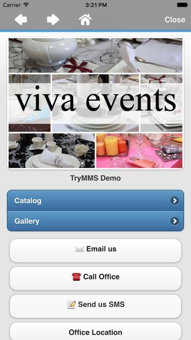 TryMMS Web Cardのスクリーンショット4