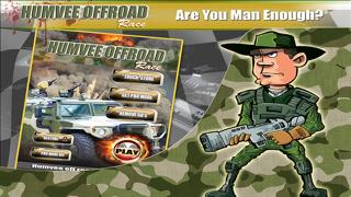 Army Battle Humvee Offroad Desert Racing Assault : Drive & Race Real YT Armour Trooper Cars screenshot one