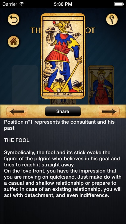Tarot of Marseille screenshot-4