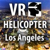 VR Virtual Reality Helicopter Flight Los Angeles by Night