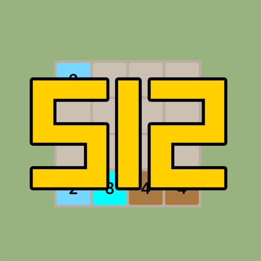 2048 More Simple Easy Free Puzzle : 512