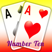 Classic Number Ten Card Game
