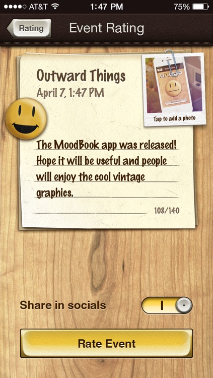MoodBook screenshot-1
